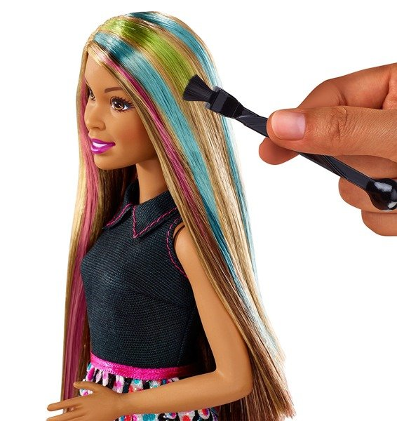 Barbie Studio Fryzur Lalka Brunetka Dhl91 Zabawki