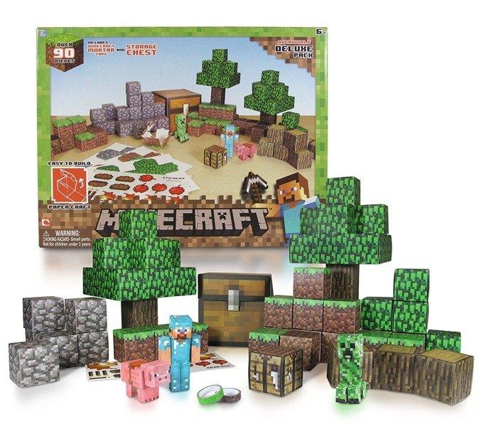 8deb58110 ... Minecraft DELUXE świat - 90 elementów TM TOYS Kliknij, aby powiększyć  ...